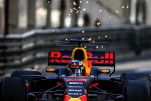 2017年F1モナコGPでTウイングを導入したレッドブル