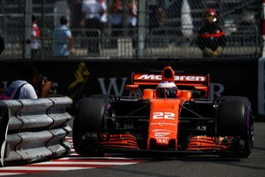 2017年F1第6戦モナコGP ジェンソン・バトン
