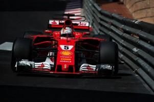 F1モナコGP初日トップタイムをマークしたセバスチャン・ベッテル
