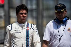 F1モナコGP フリー走行2回目でクラッシュを喫したストロール