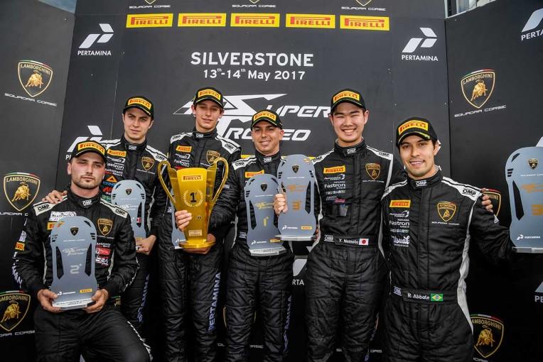 海外レース他   根本悠生がランボルギーニの若手育成プログラム加入。スーパートロフェオでは4戦連続表彰台