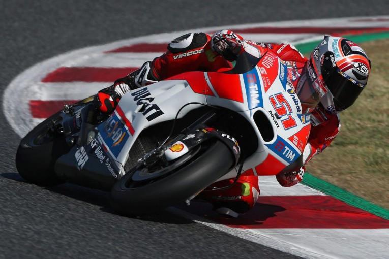 MotoGP   ドゥカティ 2017MotoGP バルセロナプライベートテストレポート