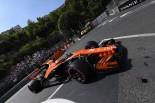 2017年F1第6戦モナコGP ストフェル・バンドーン(マクラーレン・ホンダ)