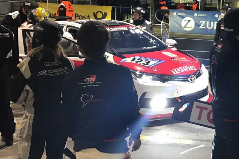 ル・マン/WEC | TOYOTA Gazoo Racing Team THAILAND ニュルブルクリンク24時間 予選1回目レポート