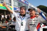スーパーフォーミュラ第2戦岡山 レース2で優勝した関口雄飛(ITOCHU ENEX TEAM IMPAL)