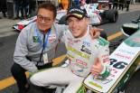 スーパーフォーミュラ第2戦岡山決勝レース1で優勝したアンドレ・ロッテラー(VANTELIN TEAM TOM'S)