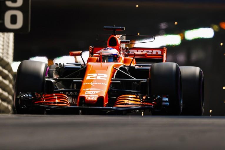F1 | F1復帰のバトンがPUエレメント交換で15グリッド降格へ。「ひどい出来事」とマクラーレンが意気消沈