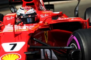F1モナコGPでポールポジションを獲得したライコネン