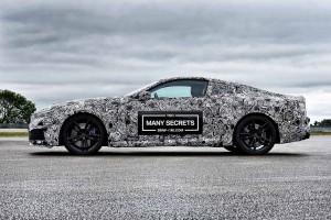 BMWが製作を進めている新型8シリーズ