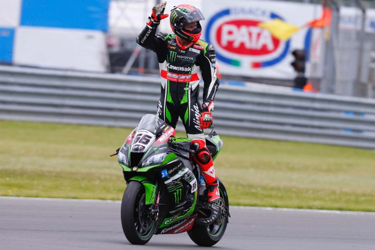 MotoGP   SBK第6戦イギリス レース1/王者レイがまさかの転倒。カワサキのサイクスが今季初優勝