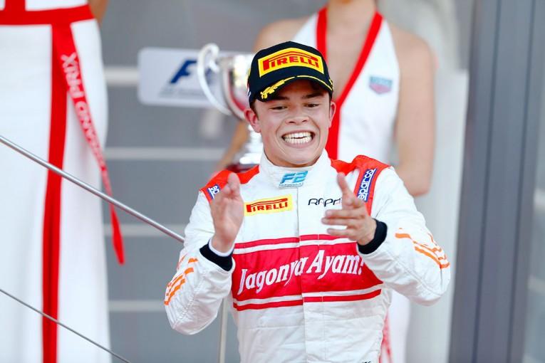 海外レース他   FIA F2モナコ 決勝レース2:デ・ブリースが初優勝、好走を見せた松下信治は7位入賞