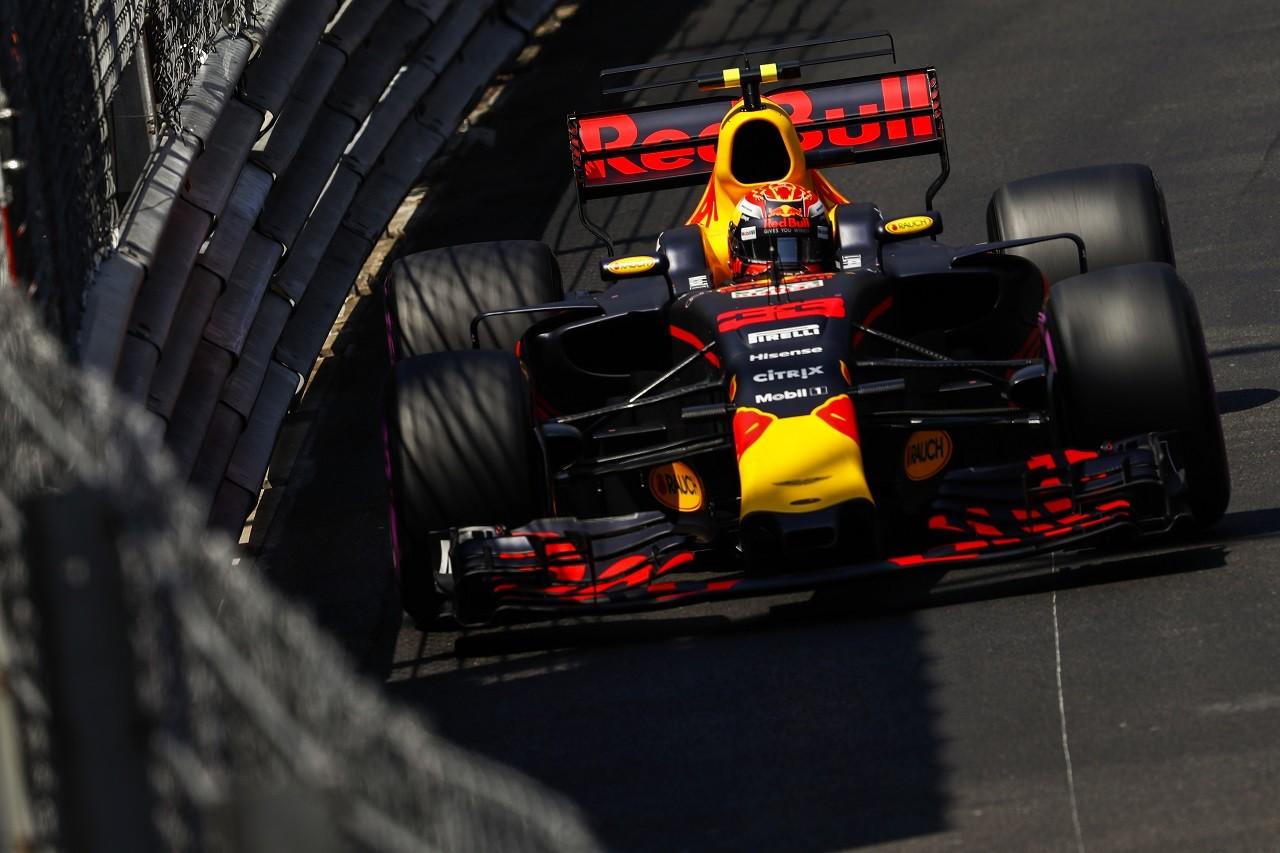 2017年F1第6戦モナコGP マックス・フェルスタッペン(レッドブル)