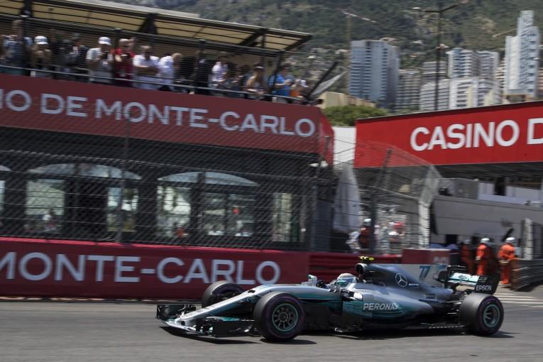 F1 | ボッタス「タイヤのウォームアップに苦労。フェラーリの方が乗りやすそう」:メルセデス F1モナコ土曜