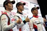 スーパーフォーミュラ第2戦岡山決勝2予選トップ3ドライバー会見