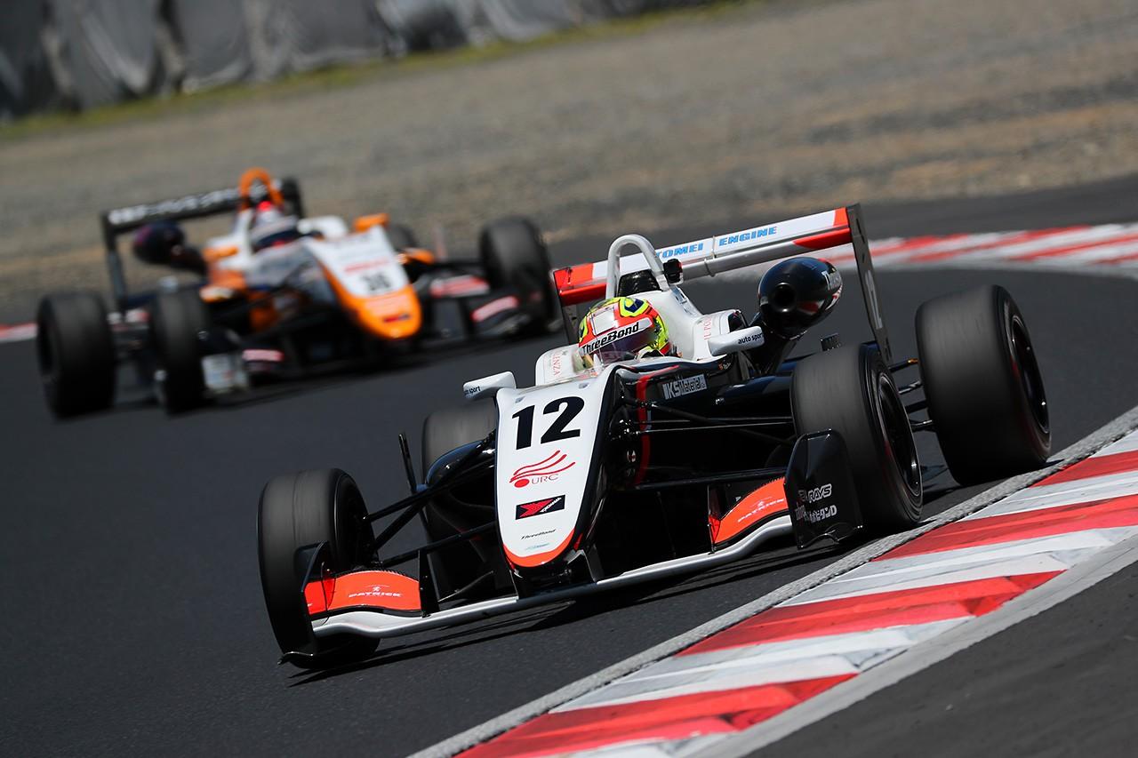 全日本F3第9戦岡山:ポールスタートのパロウが逃げ切り今季3勝目