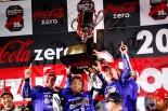 2016年の鈴鹿8耐で優勝し、2連覇を達成したヤマハ
