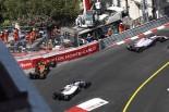 2017年F1第6戦モナコGP ストフェル・バンドーン(マクラーレン・ホンダ)が決勝でクラッシュ
