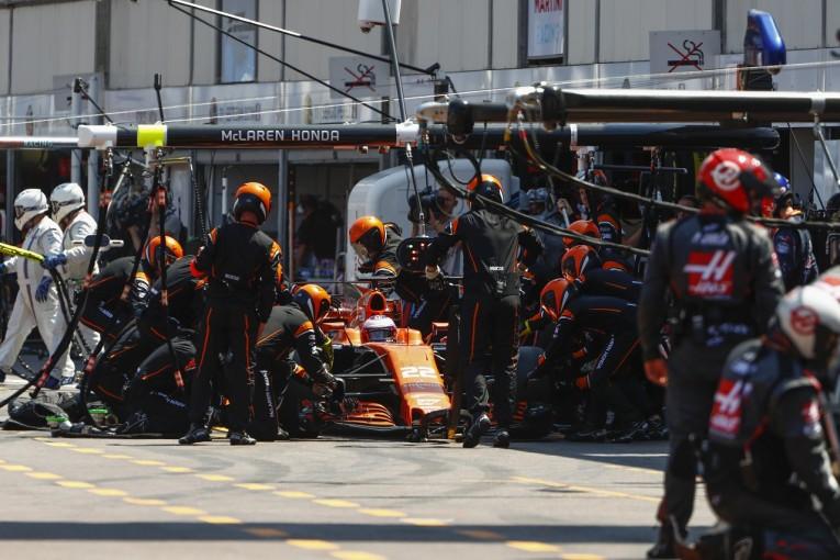F1 | マクラーレン「戦略は不発、運にも恵まれず…それでもポジティブな要素はあった」/F1モナコ日曜