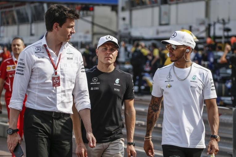 F1 | ハミルトン「ベッテルのようなナンバーワン待遇を僕は求めない」:メルセデス F1モナコ日曜