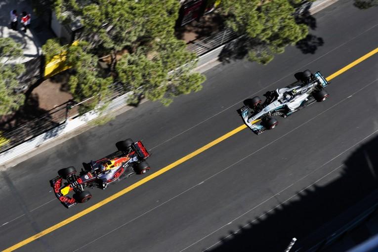 F1 | ボッタス「辛い週末をモナコでの初表彰台で締めくくりたかったのに」:メルセデス F1日曜
