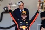 2017年F1第6戦モナコGP ダニエル・リカルド(レッドブル)が3位表彰台