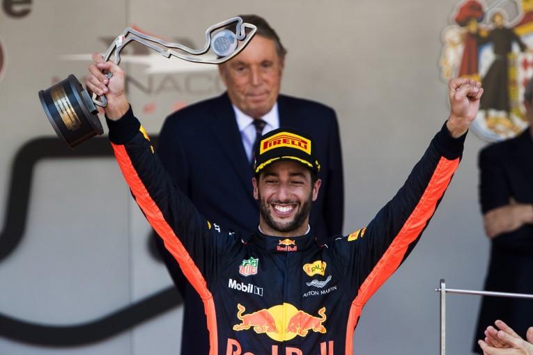 F1   リカルド3位「速さを示せてハッピー。ウォールに当たったのはびっくりしたけどね」レッドブル F1モナコ