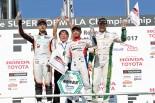 レース2表彰台