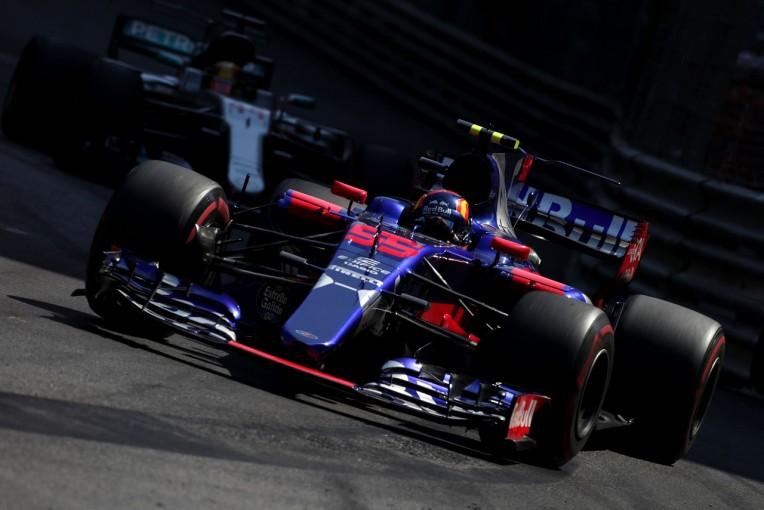 F1   サインツ6位「完璧な週末! ミスなくハミルトンを抑え切った」:トロロッソ F1モナコ日曜
