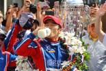 海外レース他 | 日本人初のインディ500勝者に輝いた琢磨「ターン1でのイメージはできていた」