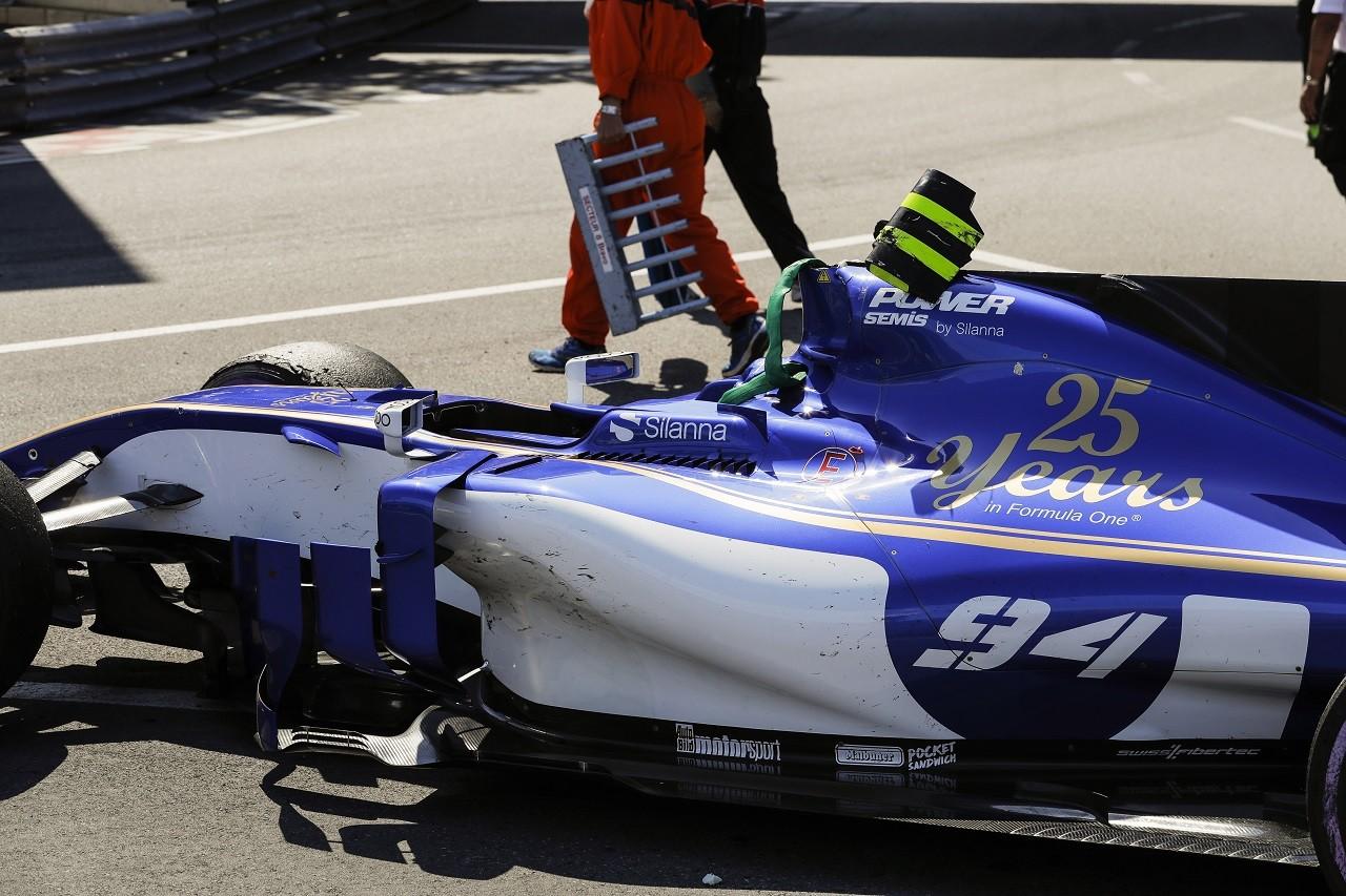 2017年F1第6戦モナコGP パスカル・ウェーレイン(ザウバー)