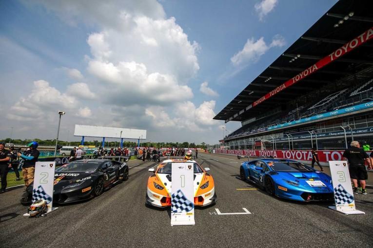 海外レース他   ランボルギーニ・スーパートロフェオ・アジアシリーズ2017 第2戦ブリーラム レースレポート