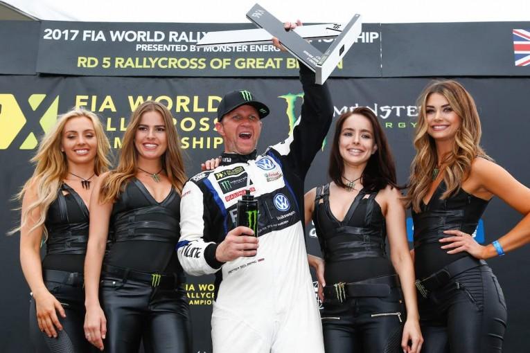 ラリー/WRC   世界ラリークロス:「この瞬間を待っていた」。ソルベルグが約1年ぶりの完全勝利