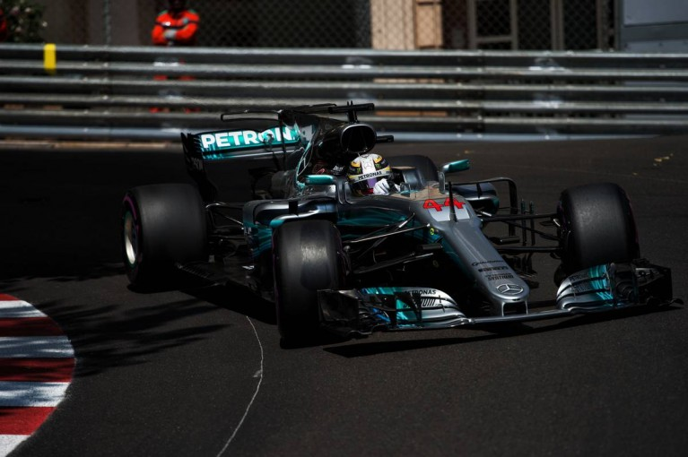 F1 | F1モナコGPでウルトラソフトに苦戦したハミルトン、マシンは「異常な状態」と説明