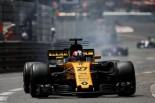 F1 | ヒュルケンベルグ「ポイント獲得は可能だったが、突然ギヤボックストラブルに」:ルノー F1モナコ日曜