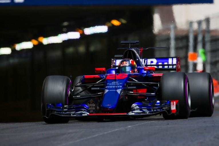 F1   トロロッソF1、好調モナコでのダブル入賞をクラッシュで阻んだペレスに怒り