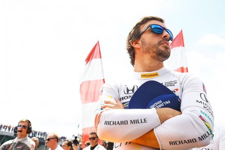 F1   先駆者としての気概を見せた、アロンソのインディ500挑戦【今宮純のザ・ショウダウン】