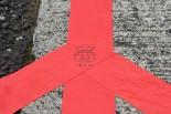 P.MU/CERUMO・INGINGのピットレーンに描かれていた落書き