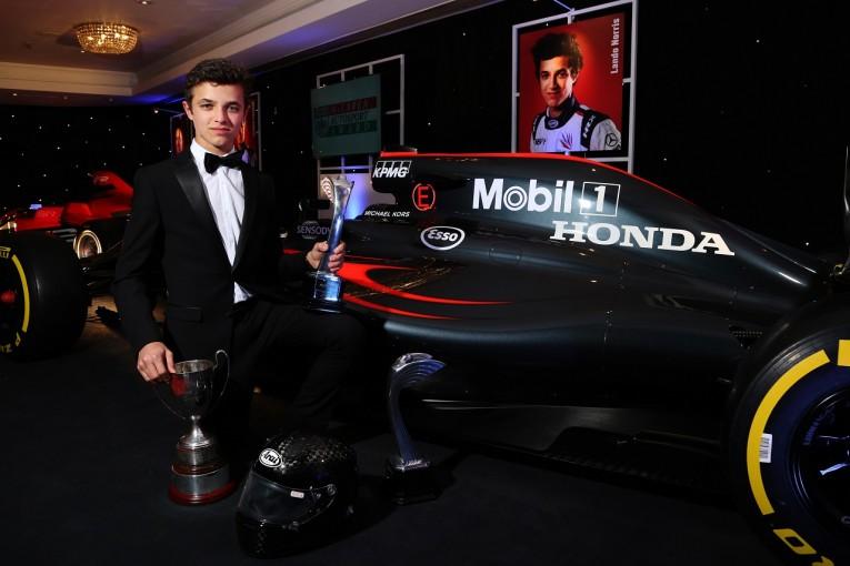 F1 | マクラーレンF1、育成ドライバーのノリスに異例のテストをセッティング