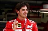 2017年F1バーレーンテストでフェラーリをドライブしたアントニオ・ジョビナッツィ
