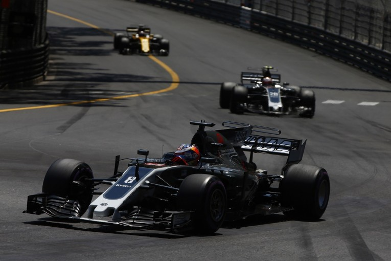 F1   ハースF1「チーム史上初のダブル入賞は運ではなく実力による成果」目標はランキング6位