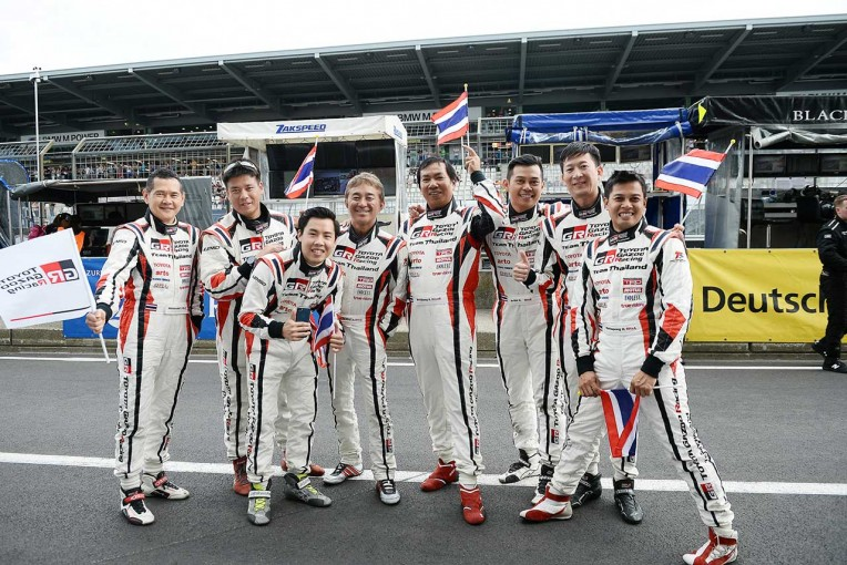TOYOTA Gazoo Racing Team THAILANDのドライバーたち