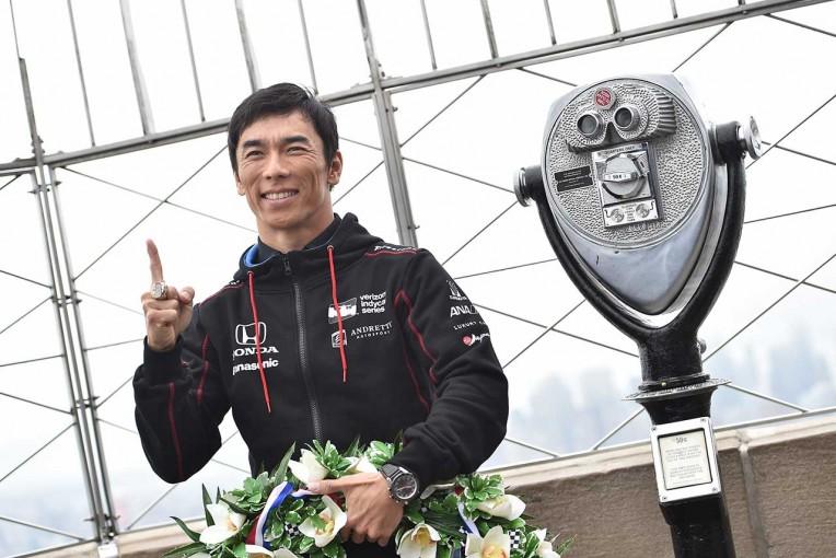 海外レース他   佐藤琢磨「まだ夢のようで信じられない」。江崎グリコが佐藤琢磨のコメントムービー公開