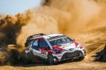 WRC第7戦イタリアでグラベル連戦3戦目に挑むTOYOTA GAZOO Racing WRT