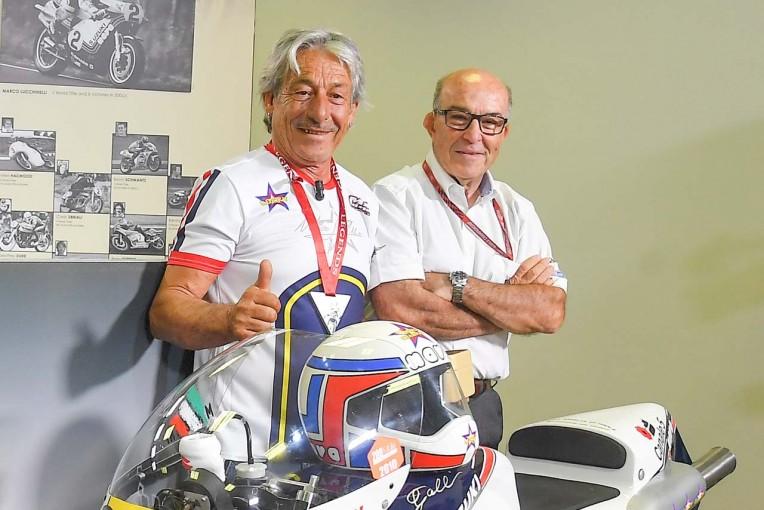 MotoGP   MotoGP:マルコ・ルッキネリが26人目のレジェンドライダーに