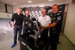 Moto2にエンジン提供するトライアンフの会見