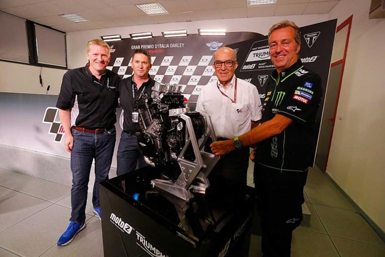 MotoGP   MotoGP:トライアンフが2019年からMoto2クラスのエンジンサプライヤーに
