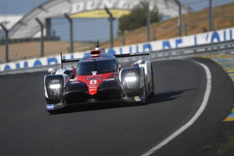 ル・マン/WEC | ル・マン公式テスト:午前は8号車トヨタがトップタイム。ポルシェは4、5番手