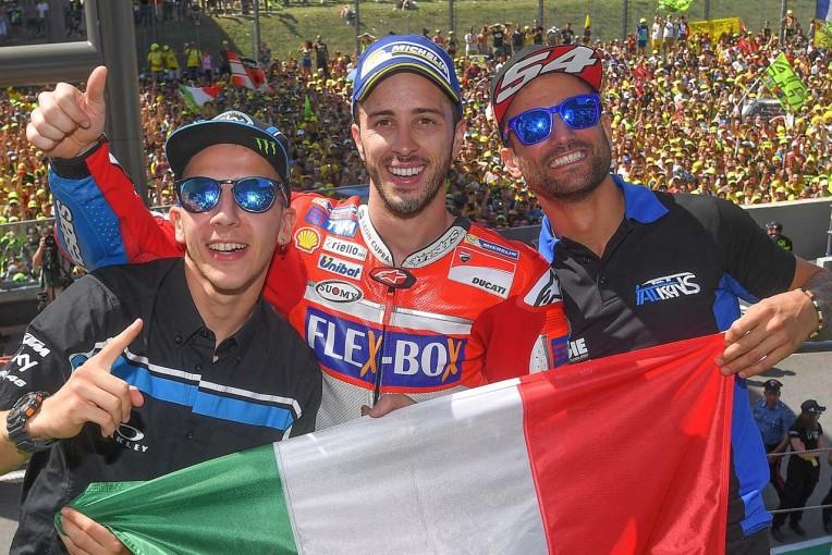 MotoGP   MotoGP:ドビジオーゾ「ドゥカティとファンから力をもらった」/第6戦イタリアGP決勝日コメント