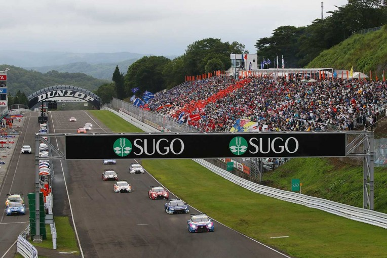 スーパーGT | 東北のモータースポーツファン必見。スーパーGT公式テストSUGOには41台のGTマシンが集う