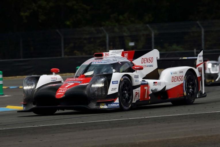 ル・マン/WEC   ル・マン公式テスト:午後もトヨタが上位独占。可夢偉の7号車、3分18秒台へ